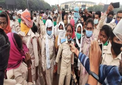 सहायक पुलिसकर्मी के आंदोलन:मोरहाबादी मैदान के आसपास सुरक्षा का पुख्ता इंतजाम,विधि व्यवस्था बिगाड़ने व उपद्रव करने पर कड़ी कार्रवाई करेगी राँची पुलिस